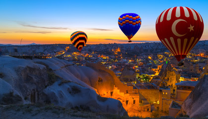 Hot Air Balloon morning Cappadocia Turkey