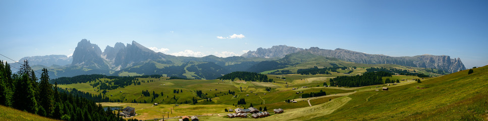 Dolomiti. Sassolungo, Sassopiatto, Alpe di Siusi