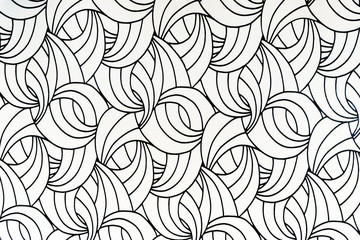 Abstract curved textured wallpaper pattern