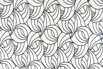 Streszczenie zakrzywione teksturowane wzór tapety