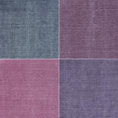 tekstura z dzianiną w czterech kolorach