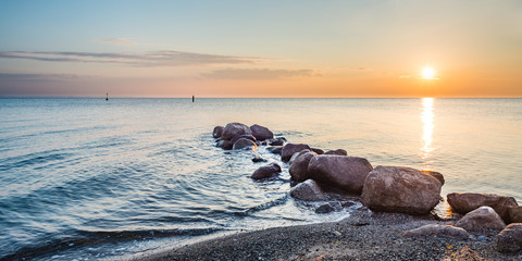 Sonnenaufgang Timmendorfer Strand, Ostsee