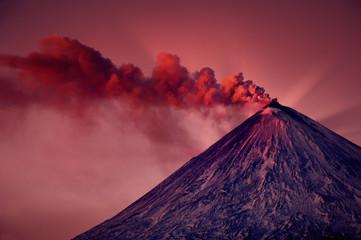 Active vulcano