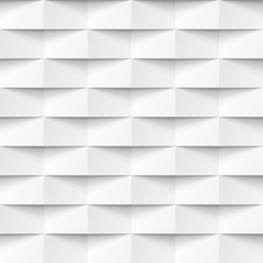 White seamless geometric texture