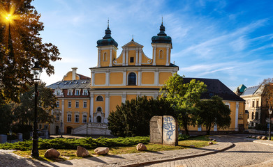 Church of St. Anthony Franciscan in Poznan, Poland