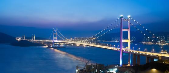 Ching Ma Bridge in Hong Kong