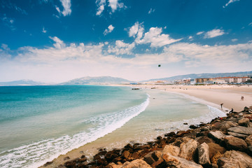 Coast near resort town of Tarifa, Spain