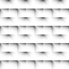 Tile of a repeatable pattern with squares.