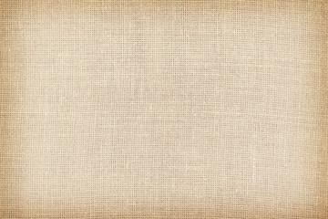 Retro stonowana naturalna bieliźniana tekstura lub tło