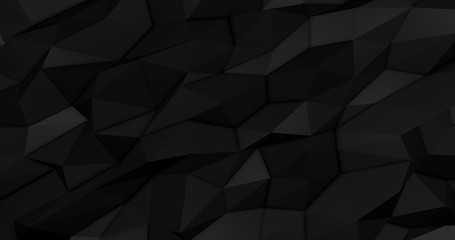Abstract polygonal space low polygon Futuristic HUD background.