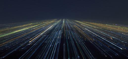 Streszczenie Light City Speed Motion