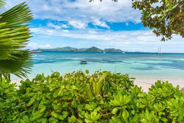 Anse la Reunion - Seszele, La Digue Island