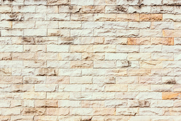 Old stone brick wall background.