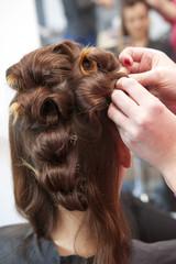Upinanie włosów