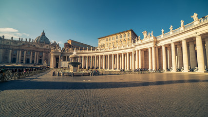 Vatican City and Rome, Italy: St. Peter's Square