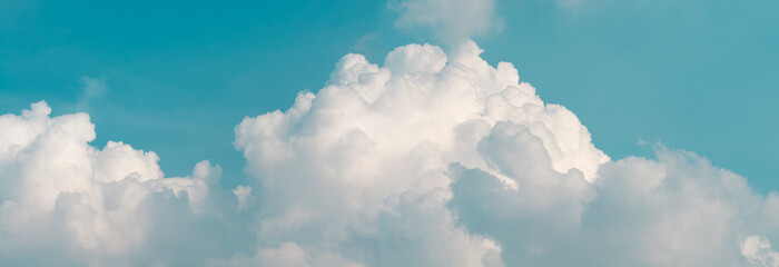 Sky clouds panoramic background