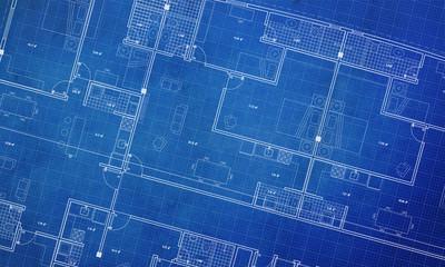 Czysta architektura Plan piętra plan tła styl streszczenie