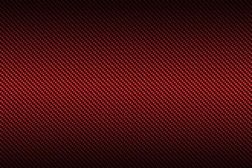 czerwone włókno węglowe z czarnym kolorem gradientu, tłem i tekstem