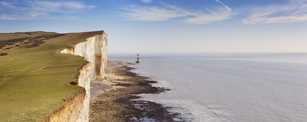Cliffs at Beachy Head on the south coast of England