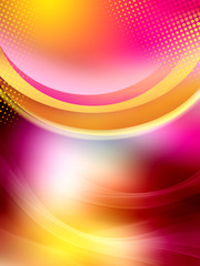 Abstract beautiful colored background for design. Modern bright digital illustration.