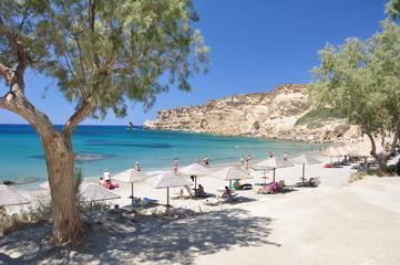 Triopetra Strand auf der Insel Kreta