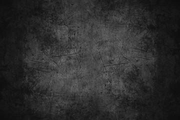 czarna porysowana metalowa tekstura