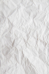 Texture of crumpled paper for background