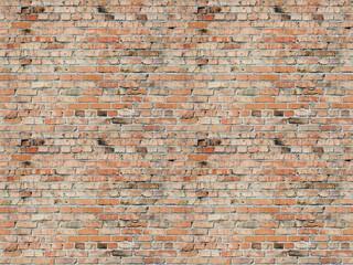 ceglana ściana