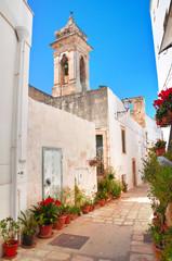 Alleyway. Polignano a mare. Puglia. Italy.