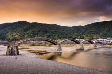 Iwakuni Bridge in Japan