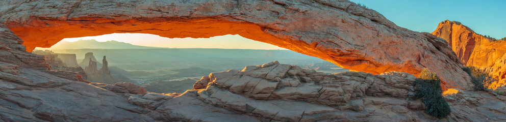 Mesa Arch, Park Narodowy Canyonlands, Utah, USA