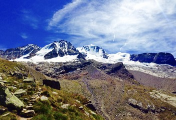 Gran Paradiso view