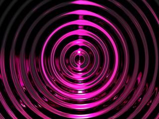 Purple Water Resonance Background