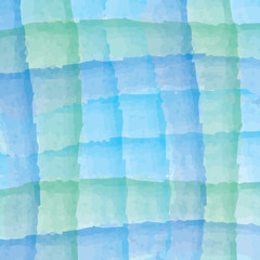 Abstract watercolor background.  light blue and green color.