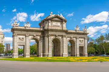 Alcala Gate of Madrid