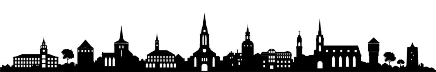 Skyline Bautzen / Sachsen