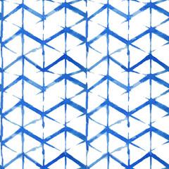 shibori indigo seamless pattern