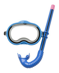 Blue Snorkel and Mask