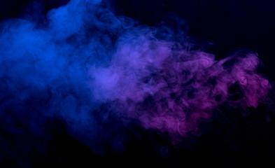 Streszczenie tle dymu
