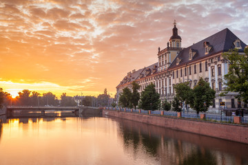 Wroclaw riverside