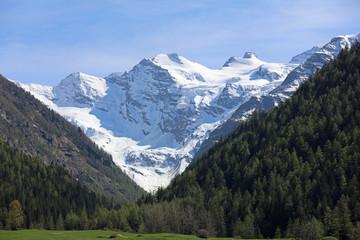 Świetny Paradiso. Aostatal Włochy