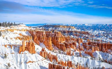 Bryce Canyon w zimie