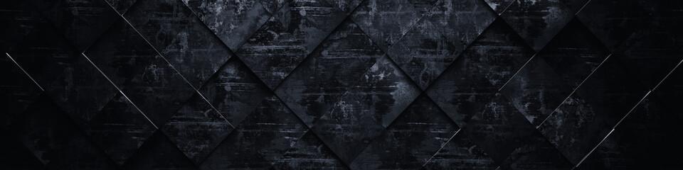 Ciemne tło grunge (głowa strony) - ilustracja 3D