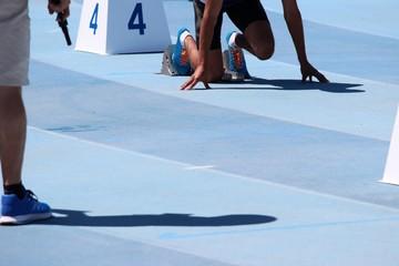 A vos marques ! Au départ du 400 m haies féminin