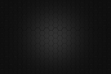 abstract Digital futuristic honeycomb background design metalic look