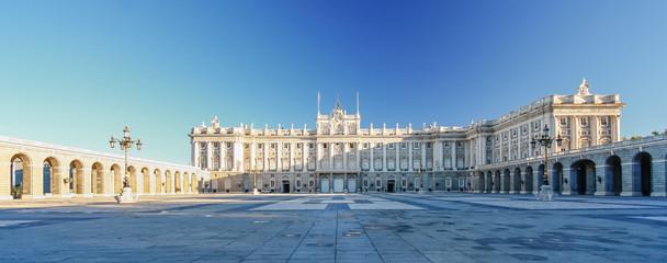 Morning light at Palacio Real , Madrid