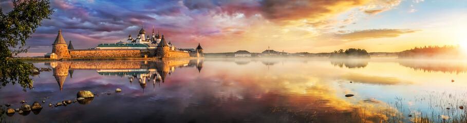 Утренний пейзаж на Святом озере Morni