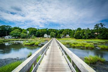 Uncle Tim's Bridge, in Wellfleet, Cape Cod, Massachusetts.