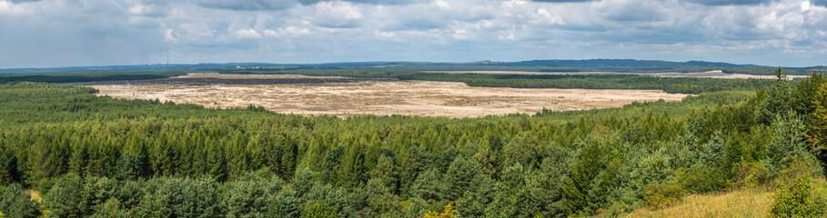 Pustynia Błędowska panorama