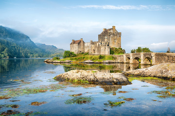 Early Morning at Eilean Donan Castle